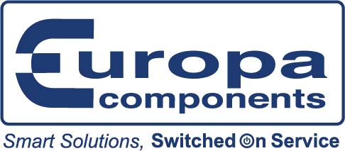 Europa Blue Boxed and Strap Line