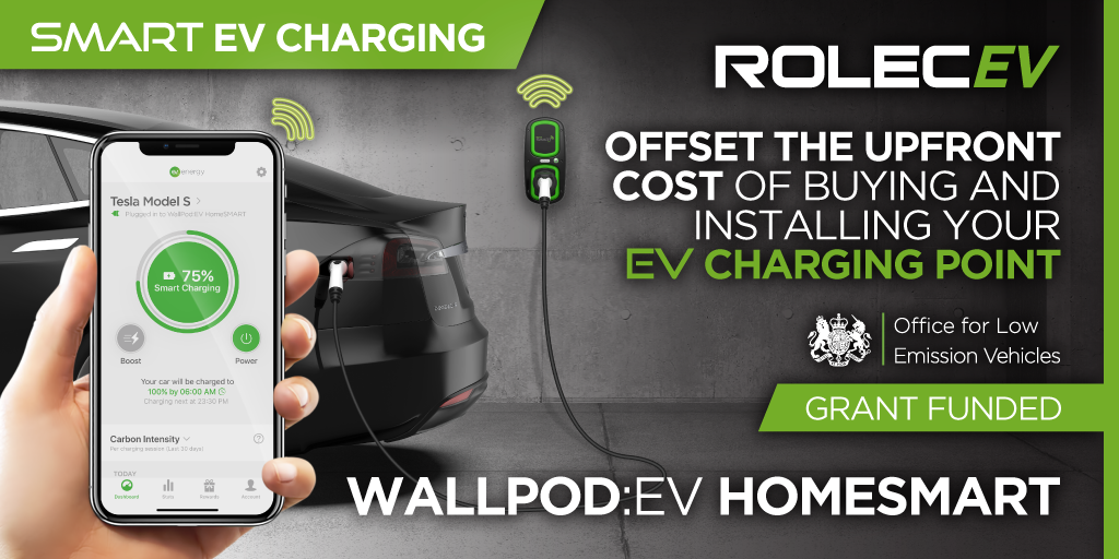 WallPodEV HomeSmart Offset the upfront cost